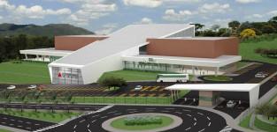Centro de Convenções e Exposições em São João Del Rey